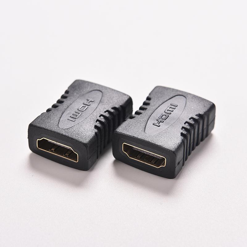 2/5/10 PCS HDTV HDCP 1080P HDMI Cable Extension Connector HDMI V1.4 Female To Female F/F Coupler Extender Adapter Plug