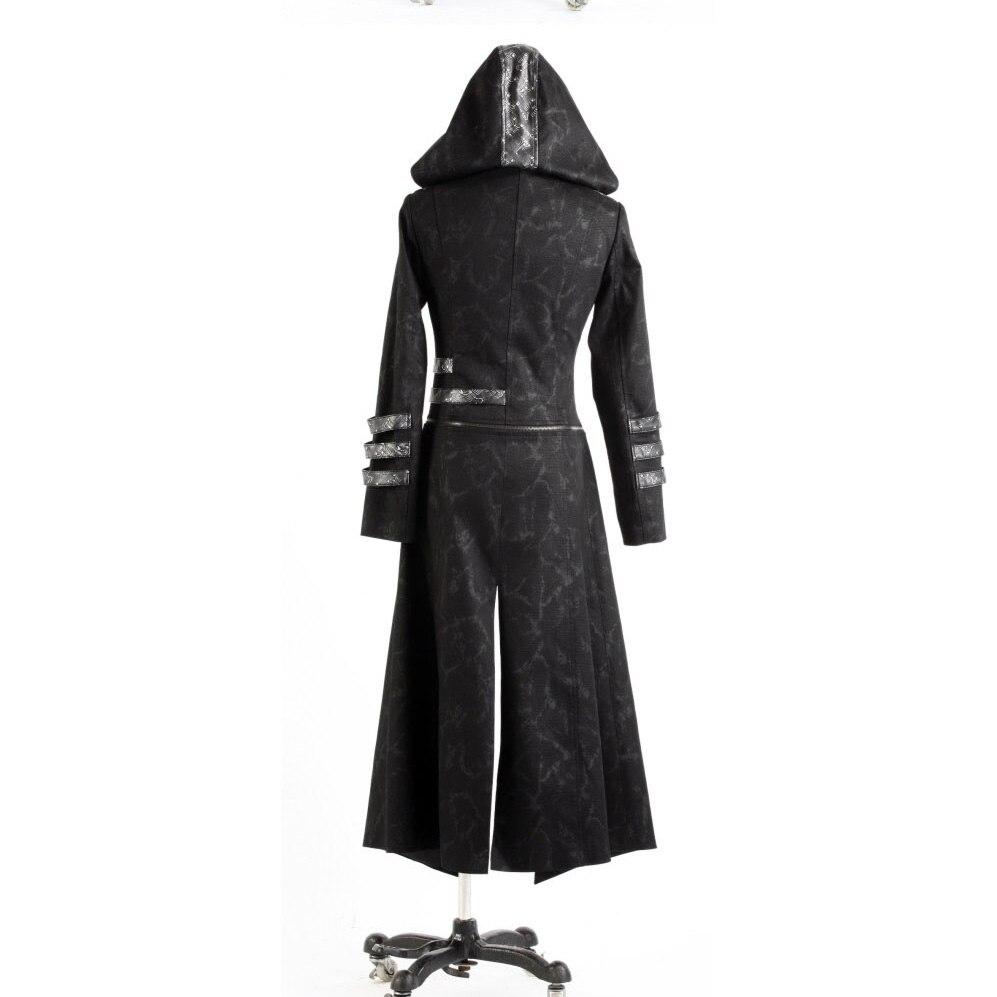 Punk Rave Mens Mens Punk Streampunk Visual Kei Gothic Dolg in kratek - Moška oblačila - Fotografija 5