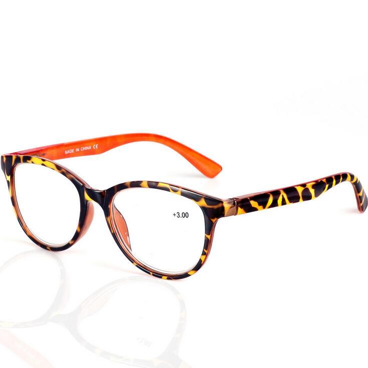 afe0c0f9e91 Lady Women Cat Eye Reading glasses Spring Hinges Plastic Reading Glasses  Oculos de grau + 1.0