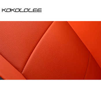 KOKOLOLEE pu leather car seat cover for Volkswagen All Models vw passat b5 6 polo golf tiguan jetta touran touareg car styling