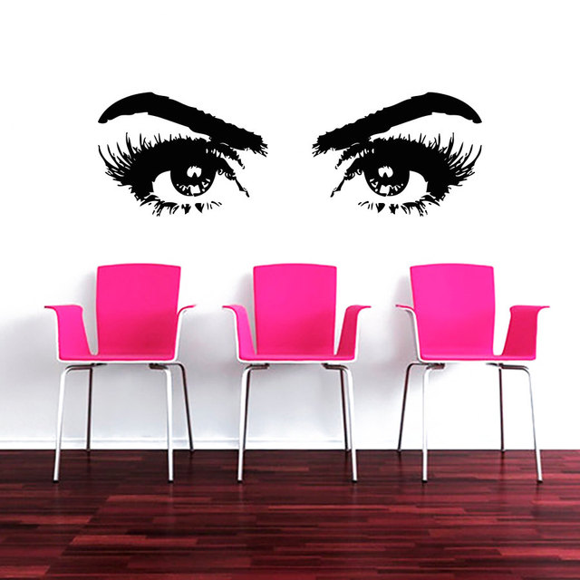 Buy Makeup Wall Decal Vinyl Sticker