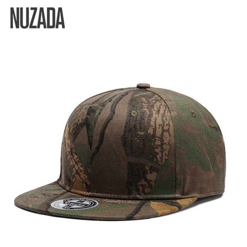 Brands NUZADA Cap Snapback Bone  Baseball Caps For Men Women Camouflage Graffiti Hip Hop Technology Cotton Spring Summer Hats 2017 bigbang 10th anniversary in japan made tour tae yang g dragon ins peaceminusone bone red baseball cap hiphop pet snapback