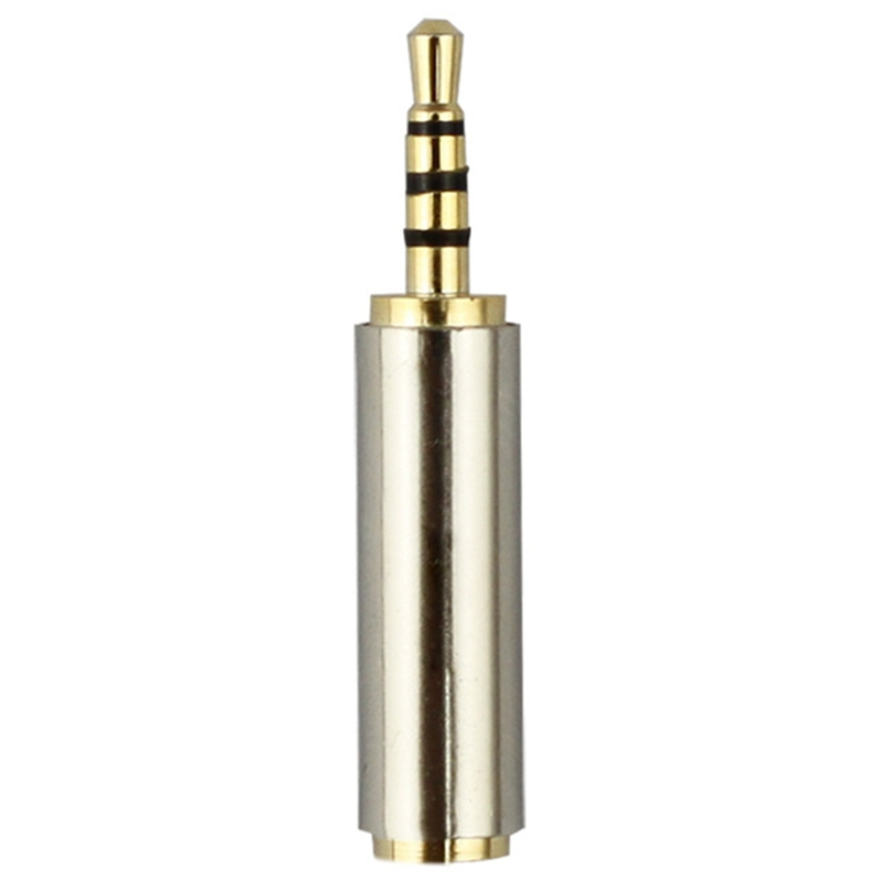 2.5 Mm Male To 3.5 Mm Female Audio Stereo Adapter Plug Converter Headphone Jack