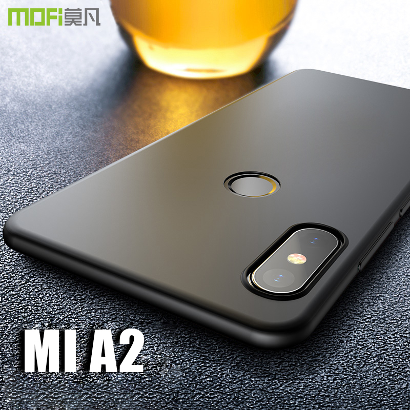 check out 1c0cf a26bd US $6.39 36% OFF|for Xiaomi Mi A2 case cover MOFI mi a2 Hard PC Back Cover  Case for xiaomi mi 6x Full Cover Case miA2 Black case Capa 5.99''-in Fitted  ...