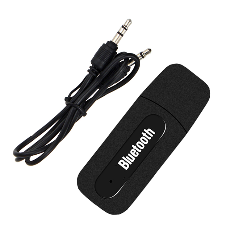 USB Car Bluetooth Aux Audio Receiver Adapter 3.5mm Aux