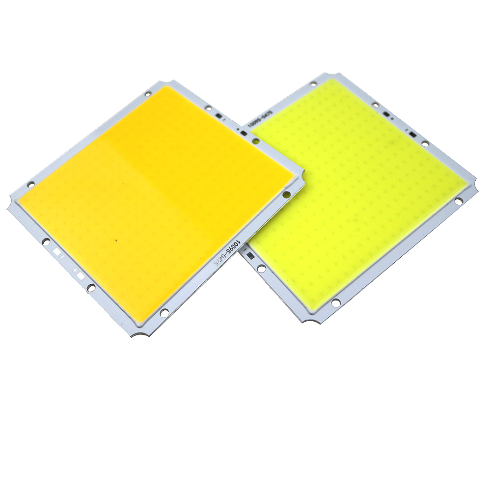 40W COB LED Lamp Square Light Bulb White/Warm white for Lamp source Chip DIY DC12V100x95MM for Solar lamp street lamp home light square 8w 800lm 6500k cob led white light lamp silver yellow 25 28v