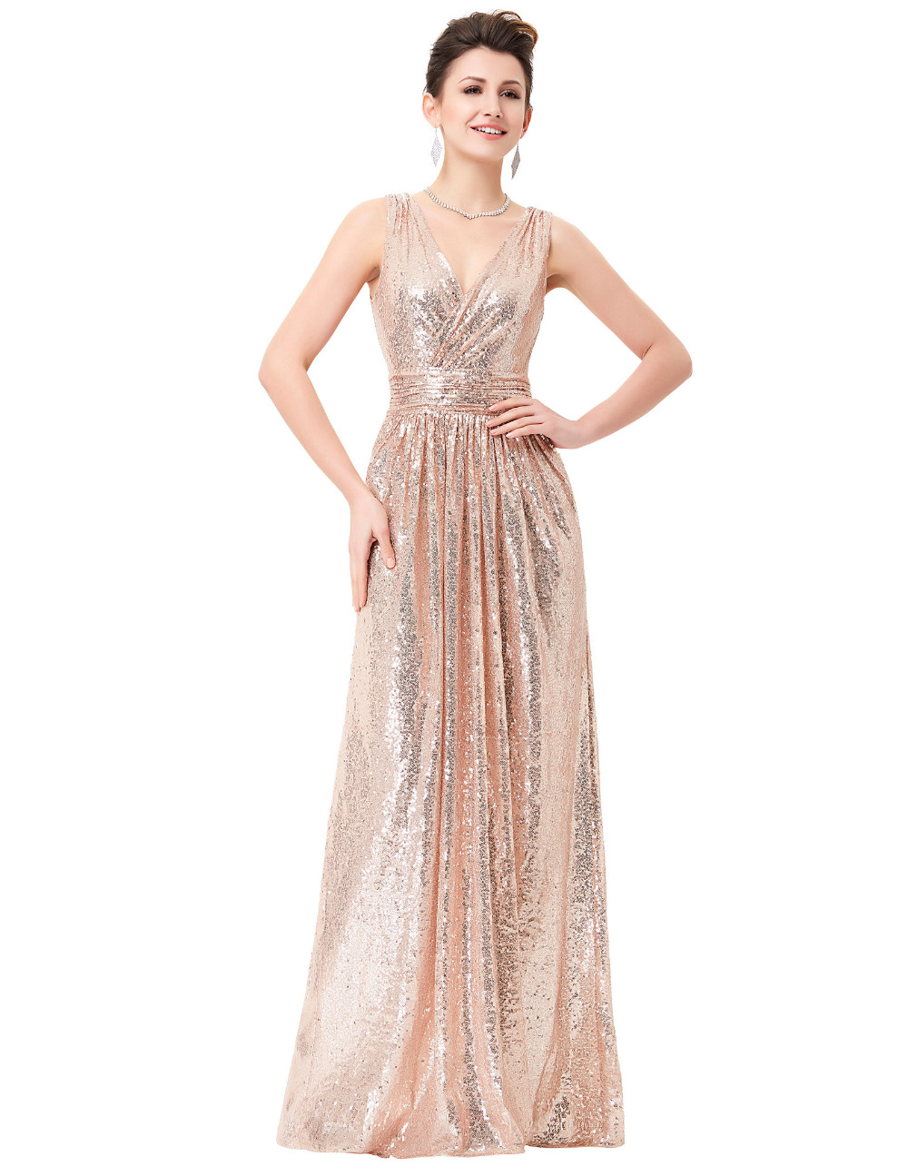 Wedding Rose Gold Dresses rose gold prom dress gommap blog collection dresses pictures reikian reikian