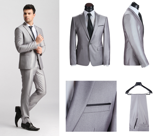 New arrival Style 2015 New Designer brand Suits for Men,Top Dress ...