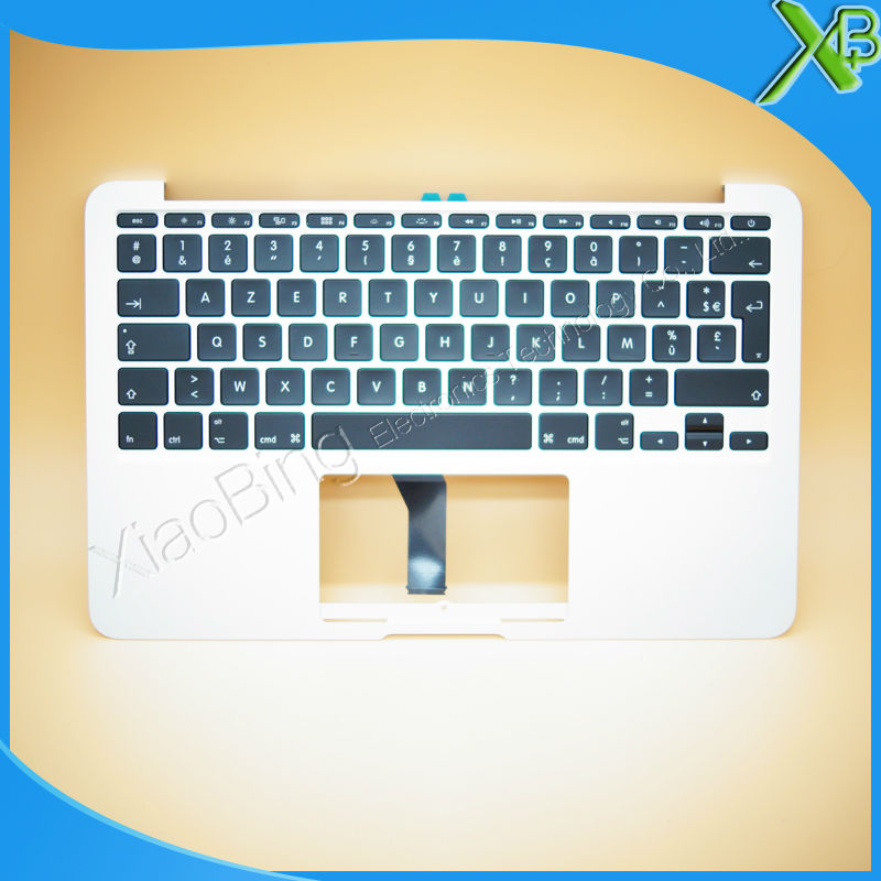 New TopCase with AZERTY FR French Keyboard for MacBook Air 11.6 A1465 2013-2015 years brand new azerty fr french keyboard backlight backlit 100pcs keyboard screws for macbook pro 15 4 a1286 2009 2012 years