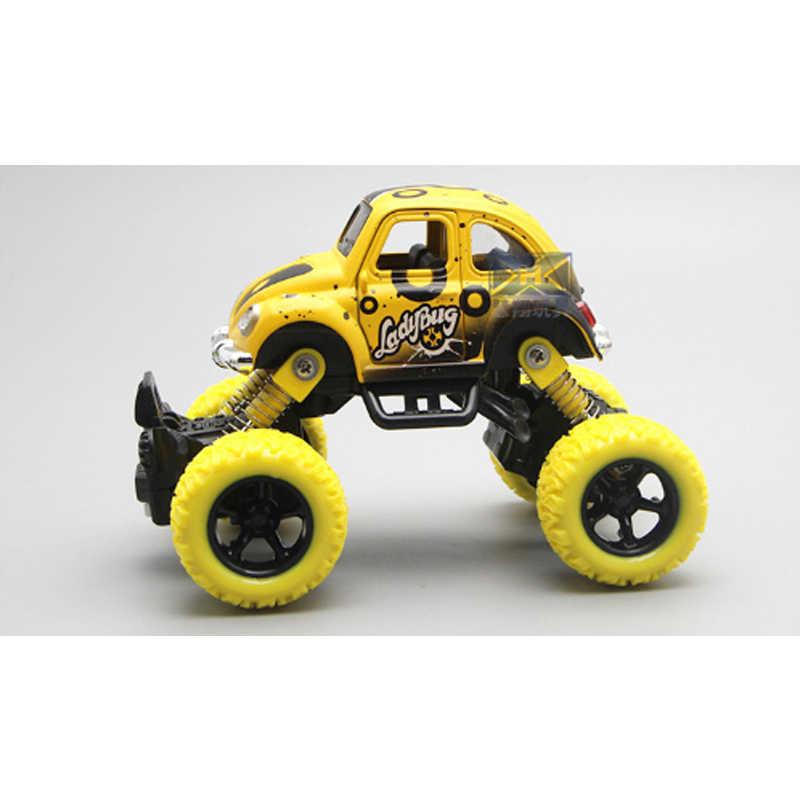 Baru Roda Besar Model Mobil Mainan Off-Road Lucu Kamuflase Mobil Roda Empat Musim Semi Alloy Diecast Dapat Membuka pintu Anak-anak Mainan Model