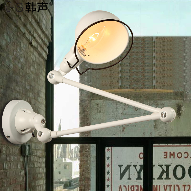 wall lamp witch aisle Vintage industrial style American country wall lights bedside lamp LED creative personality ZZP730616 american industrial style bar aisle clothing store personality probe background wall lamp telescopic led