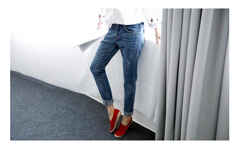 17 New Fashion Autumn Style Women Jeans Elastic Harem Denim Pants Jeans Slim Vintage Boyfriend Jeans for Women Female Trousers 16