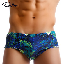 Taddlee Brand Mens Swimwear Swimsuits Swimming Briefs Bikini Gay Pouch WJ Men Surfing Swim Boxer Trunks Shorts Surf Board Shorts