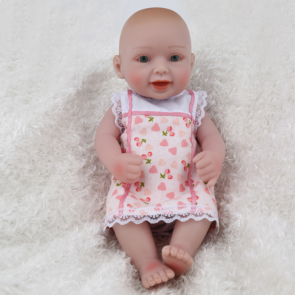Dolls & Stuffed Toys Npkdoll Doll Mini Reborn Baby Girl Real Doll For Kids 10inch Baby First Birthday Girl Decoration Princess Brinquedos Fashionable Patterns