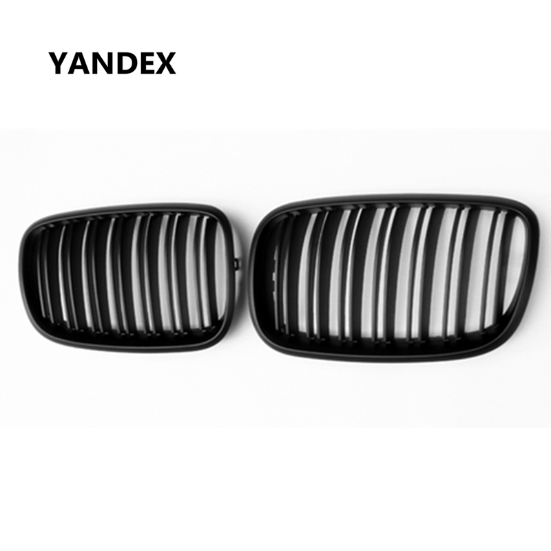 YANDEX X5 X6 E70 E71 ABS Racing Grille Front Bumper Kindey Grills Mesh For BMW X5 E70 X6 E71 xDrive35i xDrive48i xDrive50i 10th front bumper grill abs material middle grille racing grills type r grill mesh case for honda civici 2016 2017