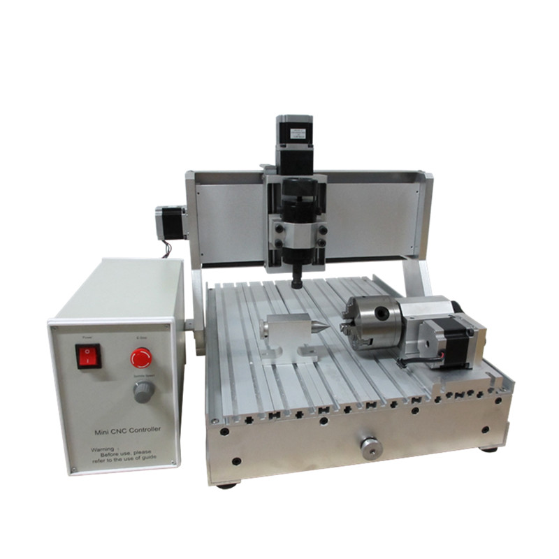 Mini CNC 3040 Engraving Machine Ball Screw 500W CNC Router Machine with Limit Switch 3 axis 4axis for Optional