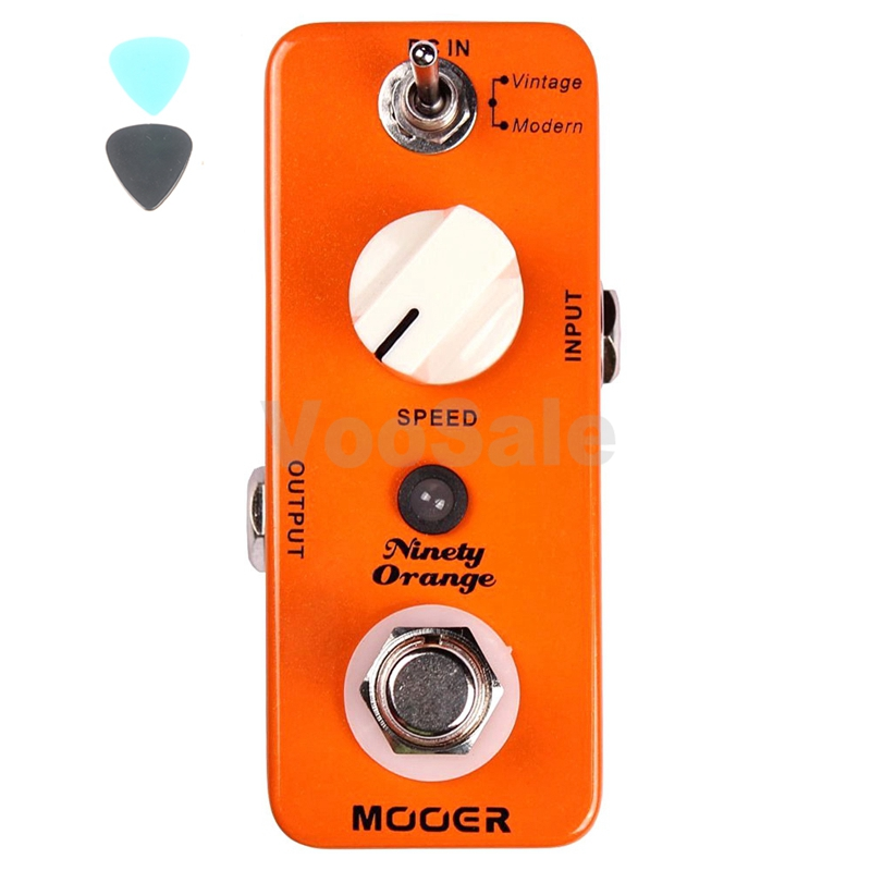 Mooer Ninety Orange Micro Analog Phaser Electric Guitar Effect Pedal True Bypass Guitar Accessories sensor automatic light lamp ir infrared motion control switch energy saving y103