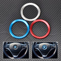 NewCar Steering Wheel Center Decoration Ring Cover For BMW 1 3 4 5 7 Series M3 M5 GT3 GT5 X1 X3 X5 X6 F25 E70 E71 2013 2014 2015