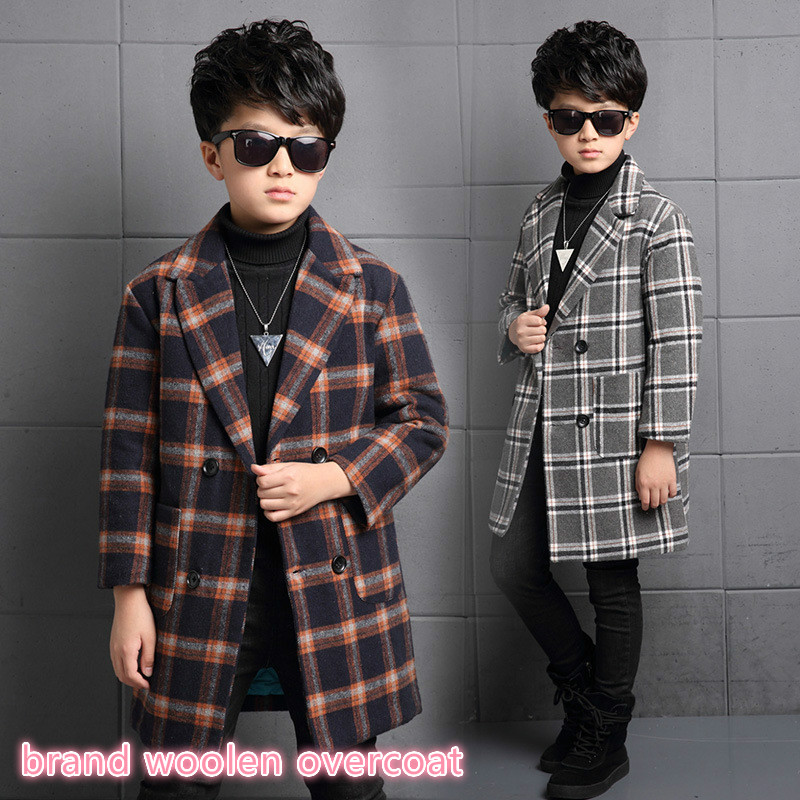 New children style brand school coat for boy 4 14 year kids Boys quality Winter clothes