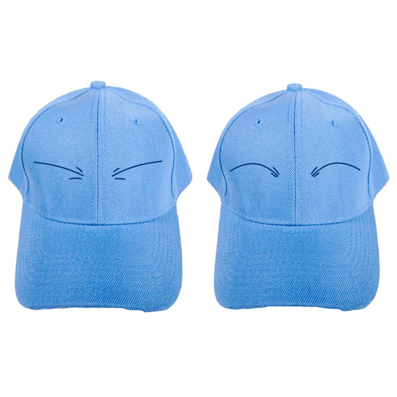 Rimuru Tempest Cute Blue Peaked Cap Cosplay Costume That Time I Got Reincarnated as a Slime Men Women Baseball Hat