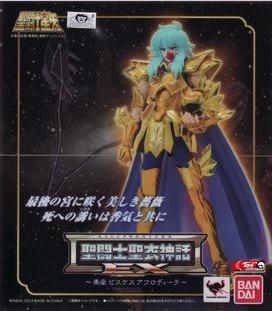 New Model toys Saint Seiya Cloth Myth Gold Ex 2.0 Piscis Aphrodite Action Figure toy Super Hero Bandai collector