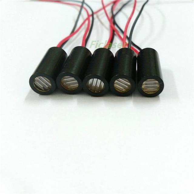 9mm 650nm 5 mW 10 mW rouge croix ligne Laser Module de qualité industrielle APC pilote TYLASERS
