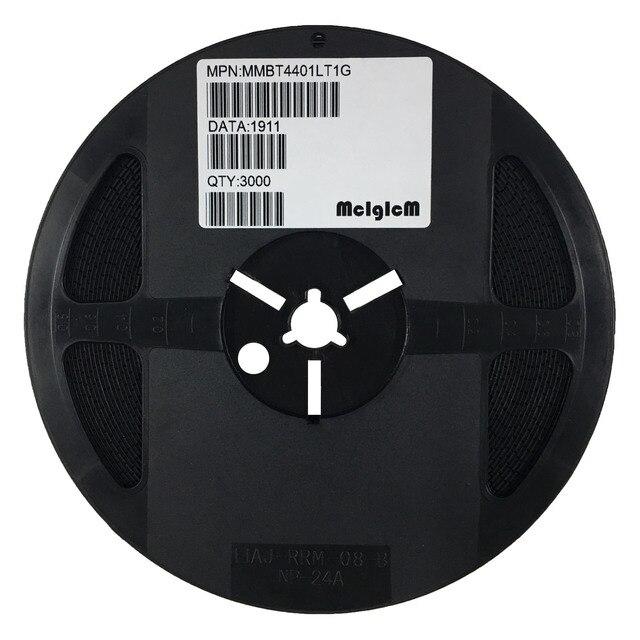 MCIGICM MMBT4401 3000pcs MMBT4401LT1G 4401 600mA 40V SOT 23 NPN SMD Transistor