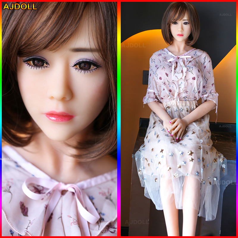158cm Life Size Breast Sex Doll Metal Skeleton Realistic Vagina Anus and Oral Sex Product Love