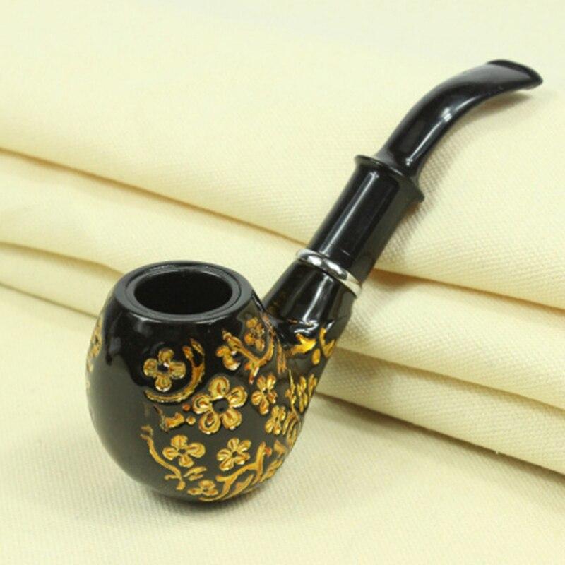 ✅Clásico chimenea filtro largo fumar Tuberías tabaco cigarros ...