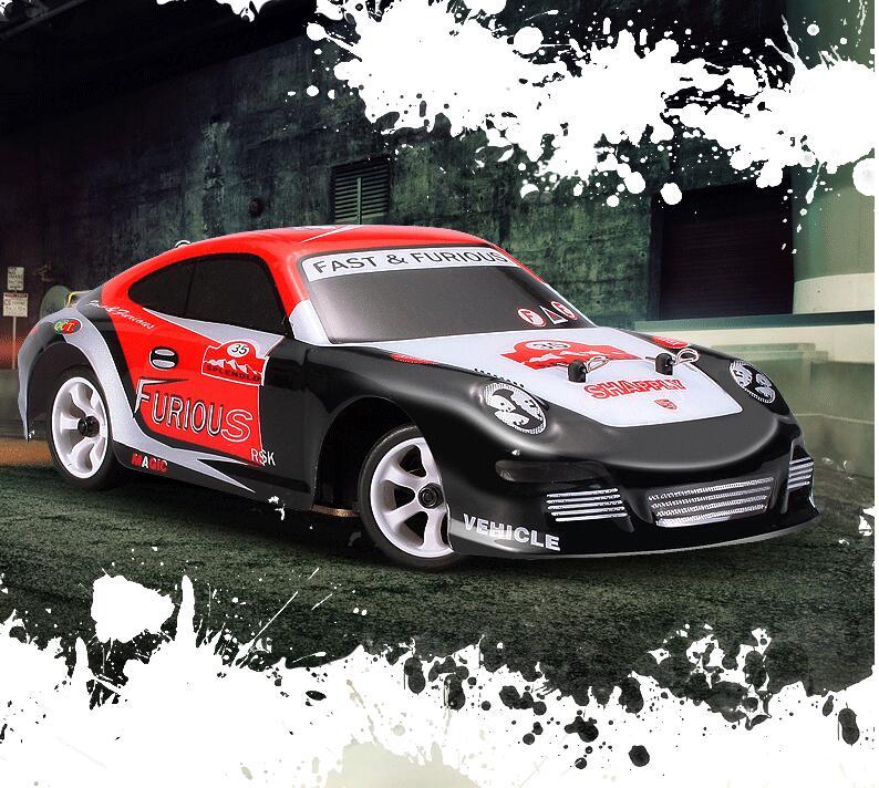2017 voiture de course Super RC chaude K969 4WD 2.4G 1:28 jouets télécommandés dérive haute vitesse 30 km/h voiture tout-terrain électronique VS A969 A959