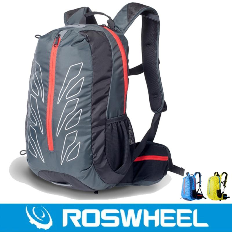 ФОТО ROSWHEEL Pro BIke Bags Outdoor Sport Backpack 15L 3 Colors Ultralight MTB Road Cycling Riding Climbing Travel Bike Packsack Bag