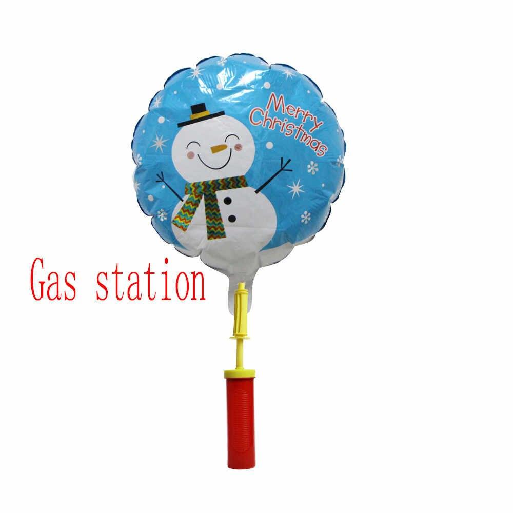 1pc grande pvc balão bomba para látex inflável brinquedos e balões da folha de ar bolas bomba mão suprimentos festa aniversário l0627