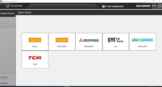 New Price TruckTool 3.2.9 diagnostic program for Mitsubishi , Cat- Rocla - TCM, UniCarriers  ForkLift