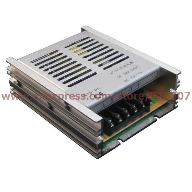 цена на Leetone K35-05 35W switching power supply 5V 7A high efficiency 100-240VAC input with OVP & OTP for 3 years warranty