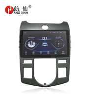 HANG XIAN 9 Quadcore Android 8.1 Car radio for KIA Forte 2009 2016 car dvd player GPS navigation car multimedia