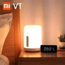 Xiaomi mijia lâmpada de cabeceira 2 luz wifi/bluetooth led luz inteligente noite interior luz funciona com apple homekit