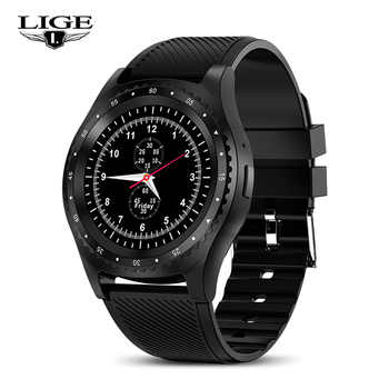 LIGE Smart Watches Black