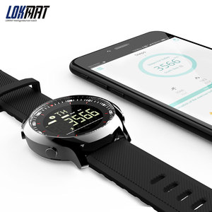 Image 5 - LOKMAT Smart Watch Sport Waterproof pedometers Message Reminder Bluetooth Outdoor swimming men smartwatch for ios Android phone