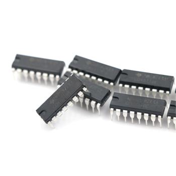 10 sztuk CD4511 CD4511BE 4511 CMOS BCD do 7 segmentu zatrzask dekoder IC tanie i dobre opinie JETTING lot (10 pieces lot)