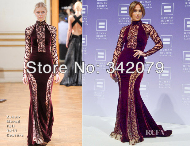 Jennifer Lopez In Zuhair Murad Couture at the 2015 Vanity