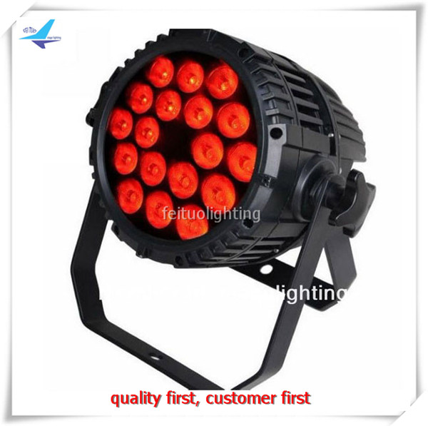 T- 16/lot IP65 waterproof 18x10W RGBW 4in1 Quad led par Light Stage DJ Disco Show Par led