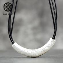 Retro Jewelry Vintage Metal Necklaces Pendant Chain Fashion Jewelry Adjustable Necklace Zinc Alloy Necklace Women Statement