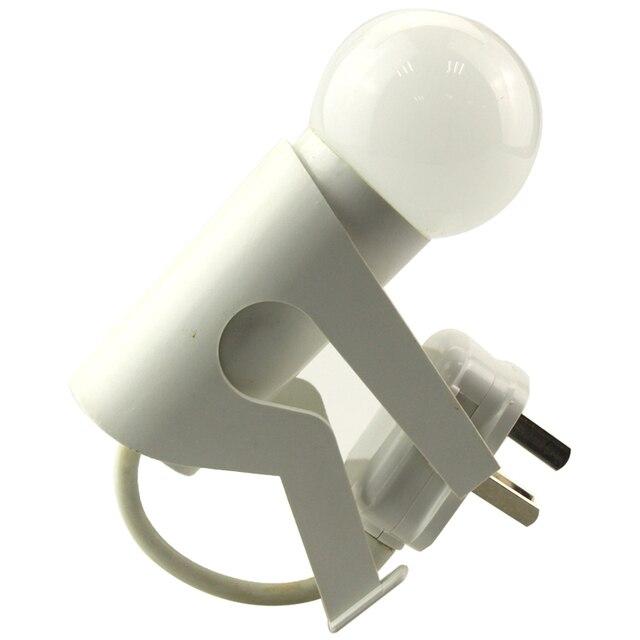 Eu us plug body shape wall socket light controlled sensor led eu us plug body shape wall socket light controlled sensor led night light lamp bedroom mozeypictures Gallery