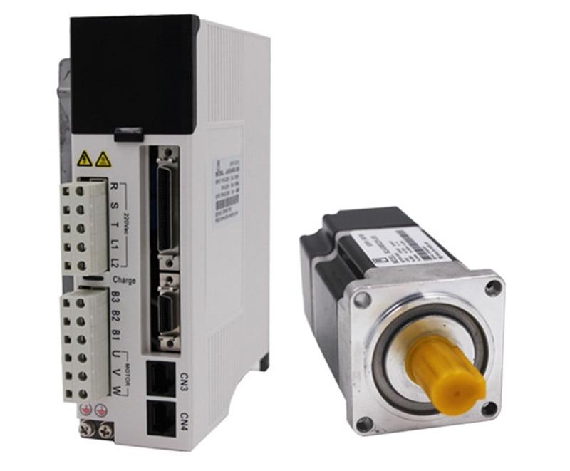 750w 80mm 2.39Nm 3000rpm AC Servo Motor&drive kit with 3m cable 20Bit AC220V JMC 80JASM5072K-20B+JASD7502-20B