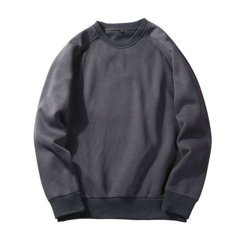 TJWLKJ Europe Size Solid Sweatshirts 2019 New Autumn Fashion Hoodies Male Large Size Warm Men Brand Hip Hop Hoodies Sweatshirts in Hoodies amp Sweatshirts from Men 39 s Clothing