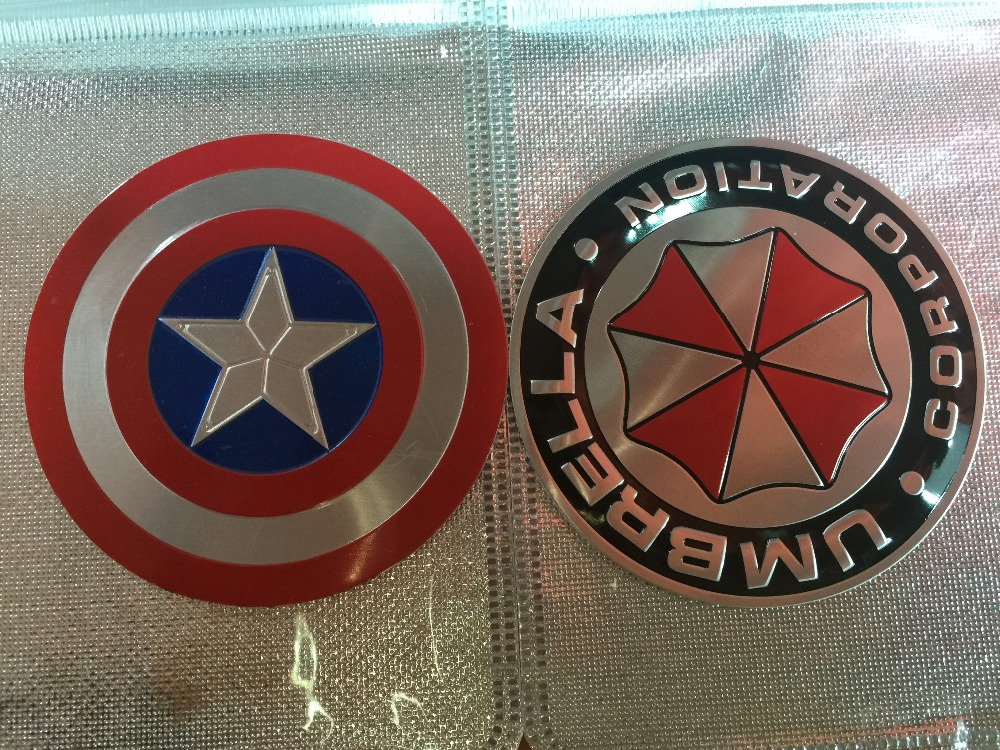 ⑧car Styling And ⊰ Decoration Decoration Captain America