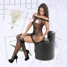Women lingerie sexy hot erotic jumpsuit stockings women exotic apparel