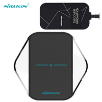NILLKIN Wireless Charegr For IPhone5 5S 5C 6 6S 7 With Receiver Pad Coil Charging Adapter