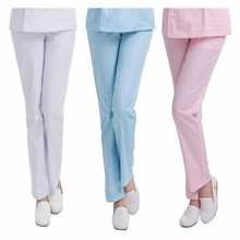 Genuine NX thin and thick Summer nurse pants Winter nurse trousers Elastic waistband Nurse clothes large size doctor pants