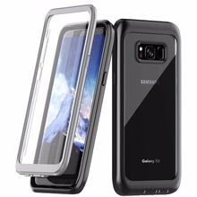 купить For Samsung Galaxy S8 S8 Plus Case Full Body Heavy Duty Drop/Shock proor Bumper Case Protector Compatible For Samusng S9 S9 Plus по цене 1015.71 рублей